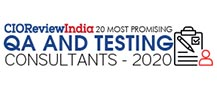 20 Most Promising QA And Testing Consultants - 2020